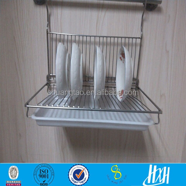 Stainless Steel Wire Dish Drying Rack Customized Kitchen Dish Rack