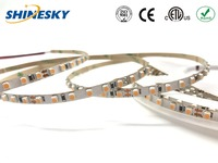 High quality 3 years warranty 120leds/M 24V 5mm Warm White SMD3528 flexible led strip light