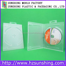 A grade 14 mm plastic cd dvd case with handle