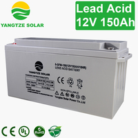 High efficiency 12v 150ah ups battery backup systems
