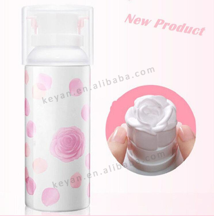 New arrivel!3D rose mousse cleansing foam,face cleansing cream