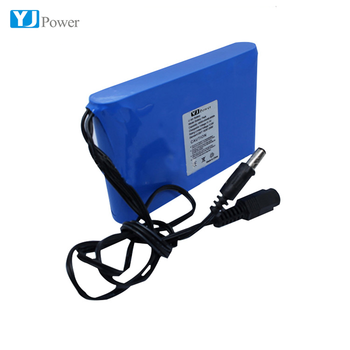 High temperature resistant 10Ah 12V 11.1V lipo battery pack for golf cart