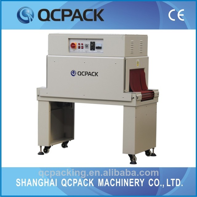 BTL-450+BM-500 semi-automatic high quality cosmetic box shrink packaging machine factory price