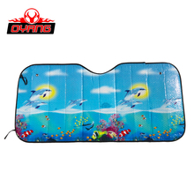 Designer custom cute car windshield sun shade