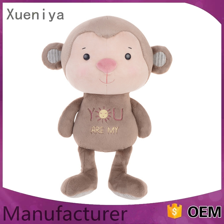 china supplier oem good quality economy wholesale 10 inches plush monkey names