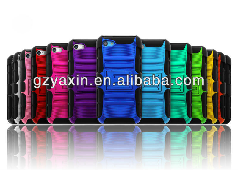 New Phone Cover Product Design for iPhone 5c Kickstand Phone Case