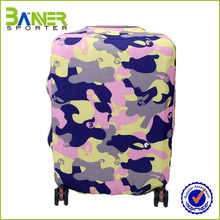 2017 fashionable polyester spandex luggage cover