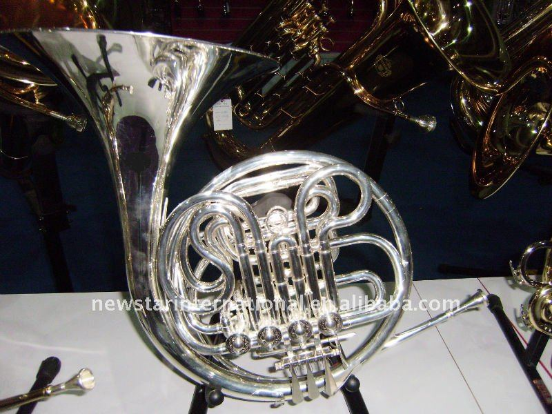 Silver Plated French Horn HFL-644s