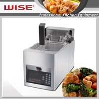 Top 10 Digital Automatic Basket Lift Multipurpose Deep Fryer 8L Restaurant Use