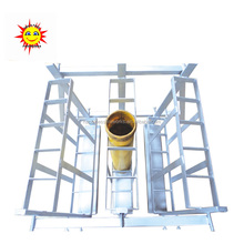 "Liuyang Happiness 5"" 15 shots mortar tubes loading material steel + Iron fireworks display rack"