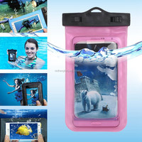 Good price plastic universal waterproof phone bag, water proof bag for mobile cell phone