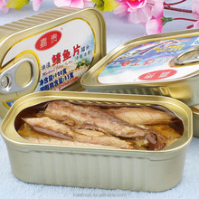 canned jack mackerel <strong>fish</strong> in olive oil