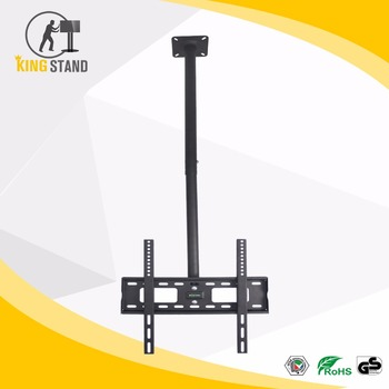 360 rotation TV ceiling mount, height adjustable ceiling mount