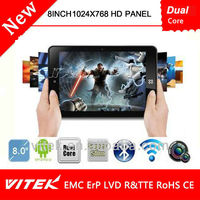 8inch dual core tablet PC with Android4.1 Multi Point Touch capacitive screen