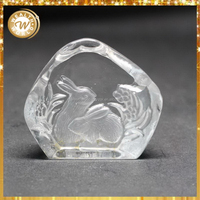 Best quality hotsell decorative crystal rabbit