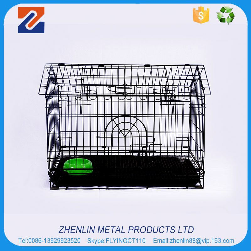 Best selling high grade folded dog crates cage