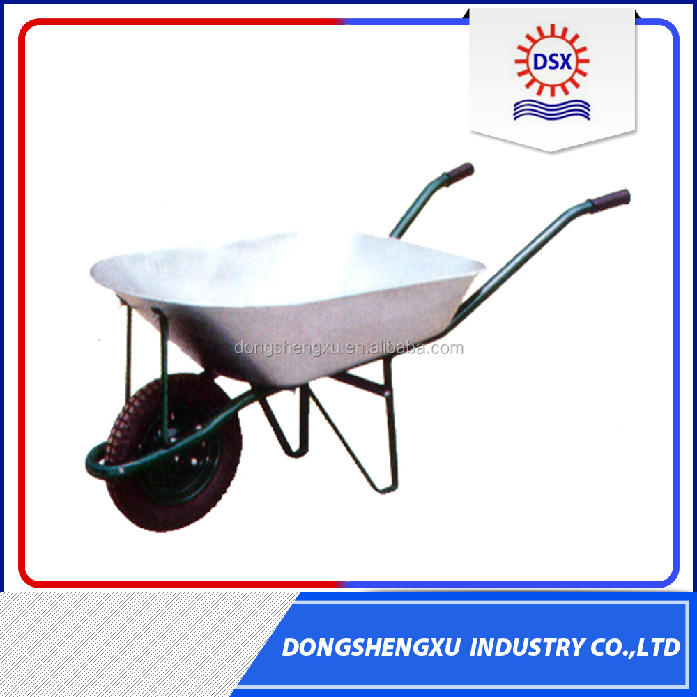 Factory Price Stainless Steel Wheelbarrow