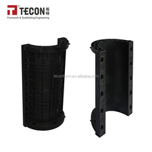 TECON Plastic Round Column formwork For Concrete