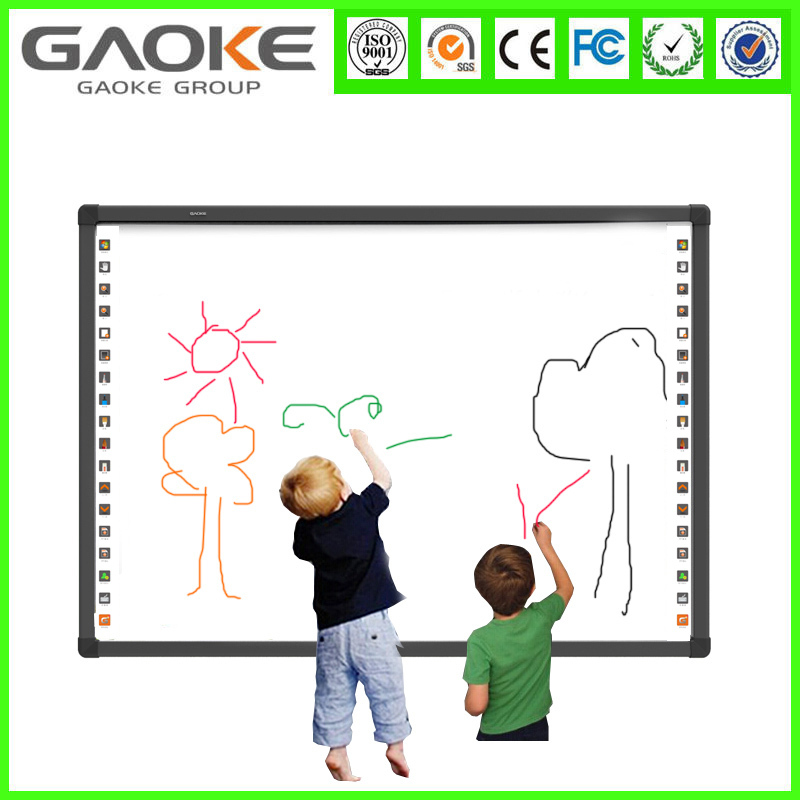 Easy Install Smart multimedia Education use Digital auto-calibration portable Interactive Whiteboard smart board