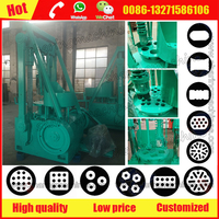 Model 170 honeycomb charcoal briquette making machine especially for charcoal/coke powder briquetting