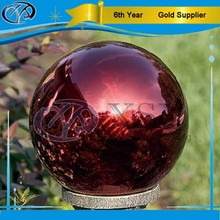 large colorful metal spheres/hollow stainless steel balls