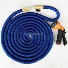 HC 2018 New fabric 50FT blue color water garden expandable hose with spray gun