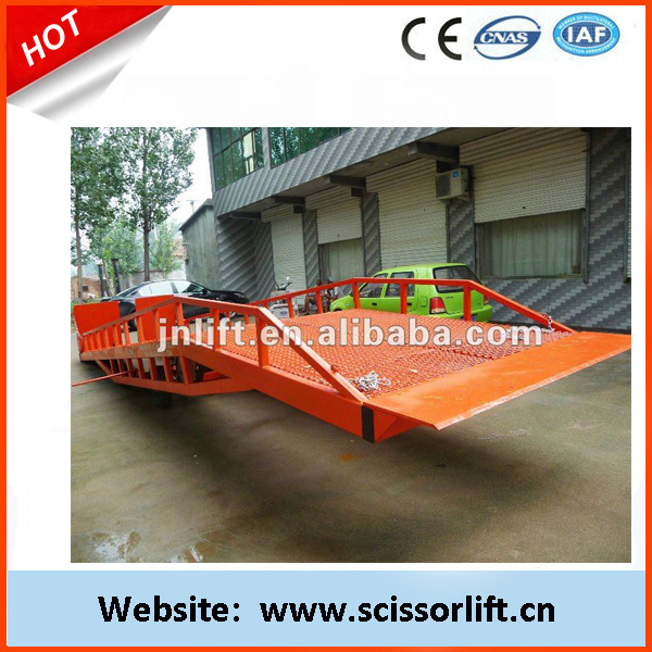 Manual Electric container loading ramp/Dock leveler