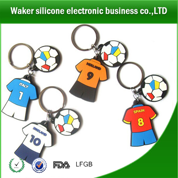 new design rubber silicon key cover/silicone keychain/