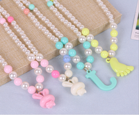 chirldren plastic creative jewelry accessories chain two-piece set,necklace