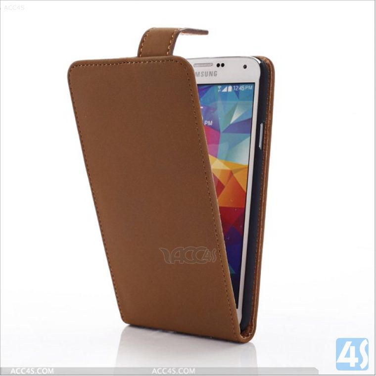 alibaba.com france leather flip case for Samsung Galaxy S5