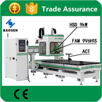 industrial machine cnc router wood multi with japanese yaskawa servo motor