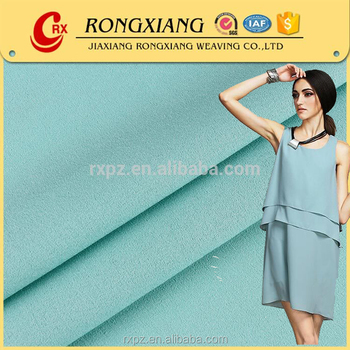 Fancy high quality polyester 75D*75D false twist chiffon for casual dresses
