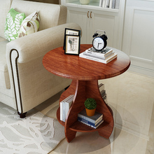 Chinese Tea Set Design Modern Living Room Furniture Wood Wooden Round Gaoduanshi Coffee Table