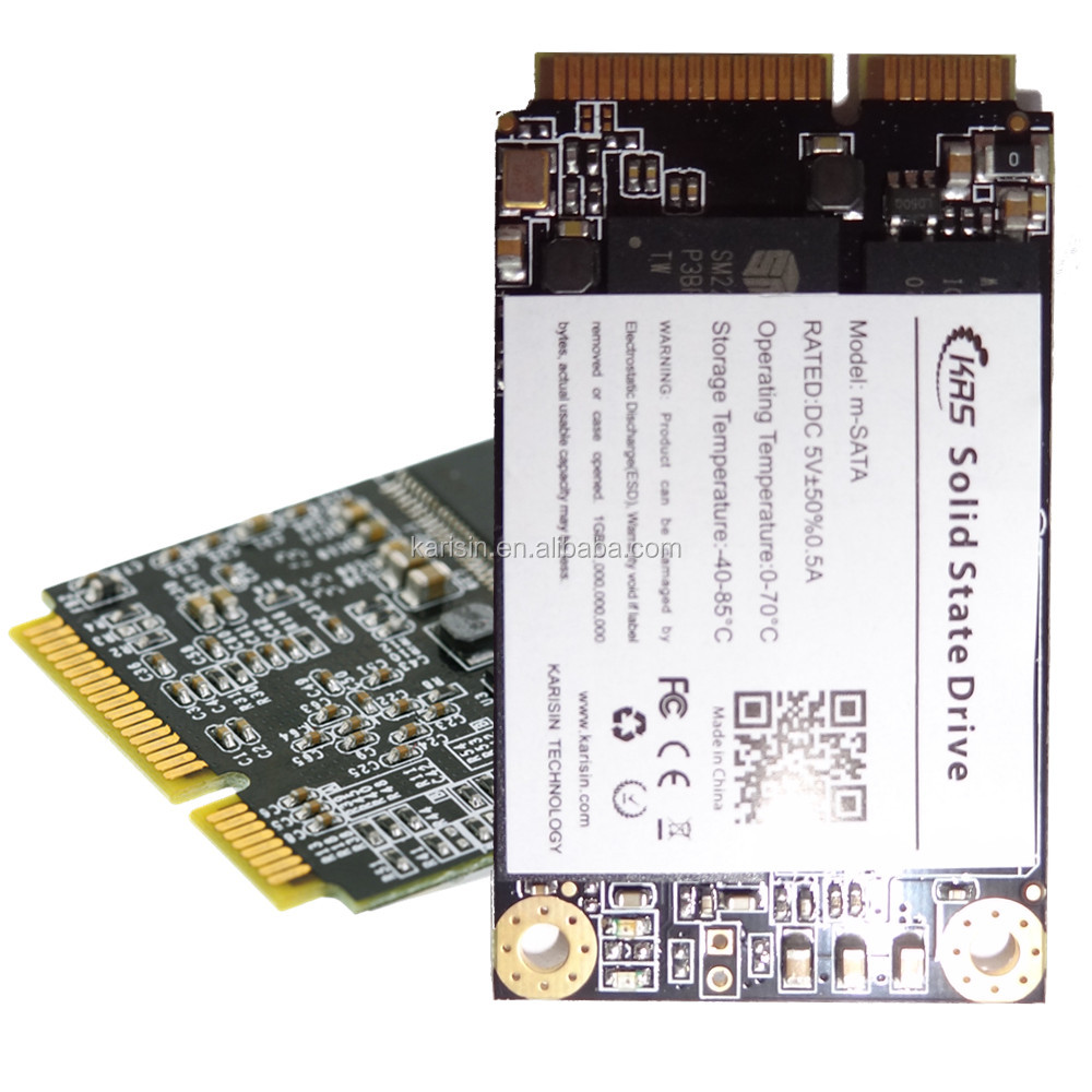 Thin client mini pcie solid state hard diks drive mSATA 120gb ssd hard disc