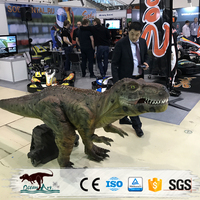 OA4950 amusement park Battery powered t rex walking