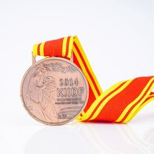 Factory Wholesale Custom Brass Metal Sports Army Medal