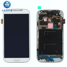 Professional Wholesale LCD Display For Samsung Galaxy S4 sgh-i337 LCD Screen Digitizer Assembly Replacement