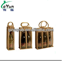 top quality for jute wine bag,jute packing bag,designer jute bag