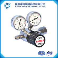 BPF-J-SS Factory Price Stainless Steel Gas N2 Air Pressure Regulators With Valves For Sale