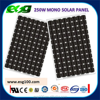 Factory Price High Efficiency High Quality 300w 250W Mono Solar Panel