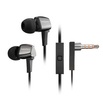 Wallytech VOCALS WHF-128 Earphone With Microphone for IOS8 and Android Mobile Phone