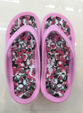 beach swimming pool EVA slippers with massage insole