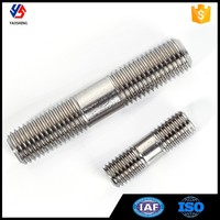 Different Size201 304 Stainless Steel Double End Stud