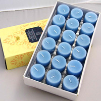 Allite wholesale votive multi-colored tealight candle paraffin wax