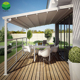Residential Outdoor Low Price Retractable Gazebo Canopy Roof Awning System