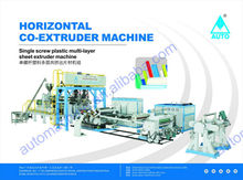Automatic 3 layers Plastic Film Extrusion Machine