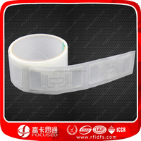 Glossy Paper/PVC/PET rfid sticker for warehouse management