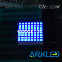 ARK high quality, 1.9'' 8x8 Dot Matrix LED Display Blue Color for led screen