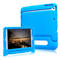 Factory wholesale price kids shockproof case cover for iPad mini 1 2 3 tablet with handle stand