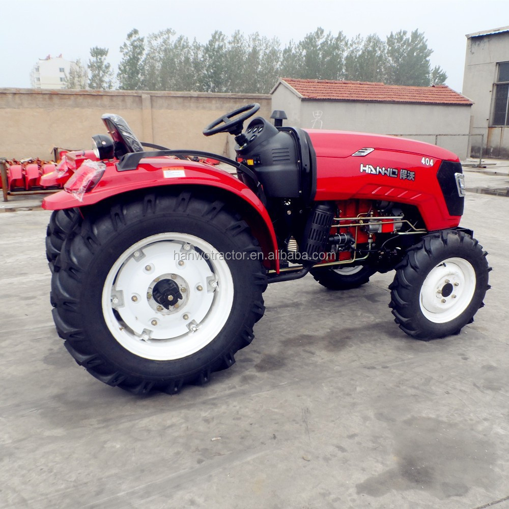 Chinese famous mini tractor garden tractor 40 hp
